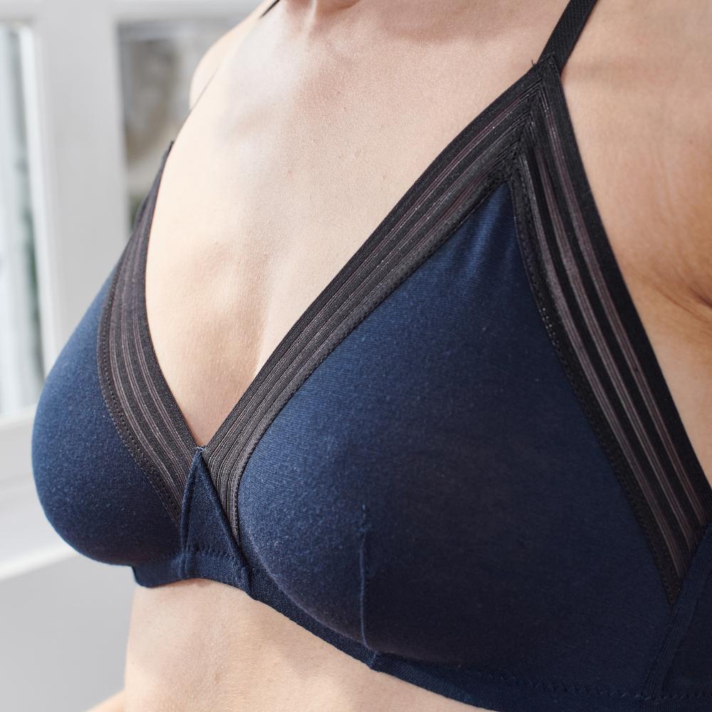 Soutien Gorge Femme Bleu Le Slip Français