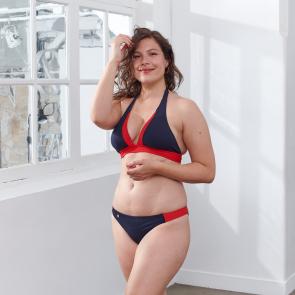 Navyblue bikini top