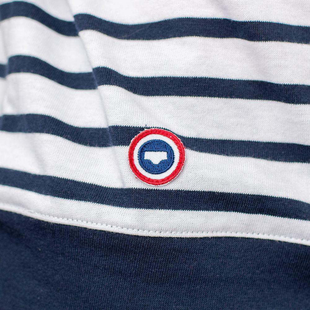 Easywear Haut Mixte Mariniere Bleu Le Slip Français