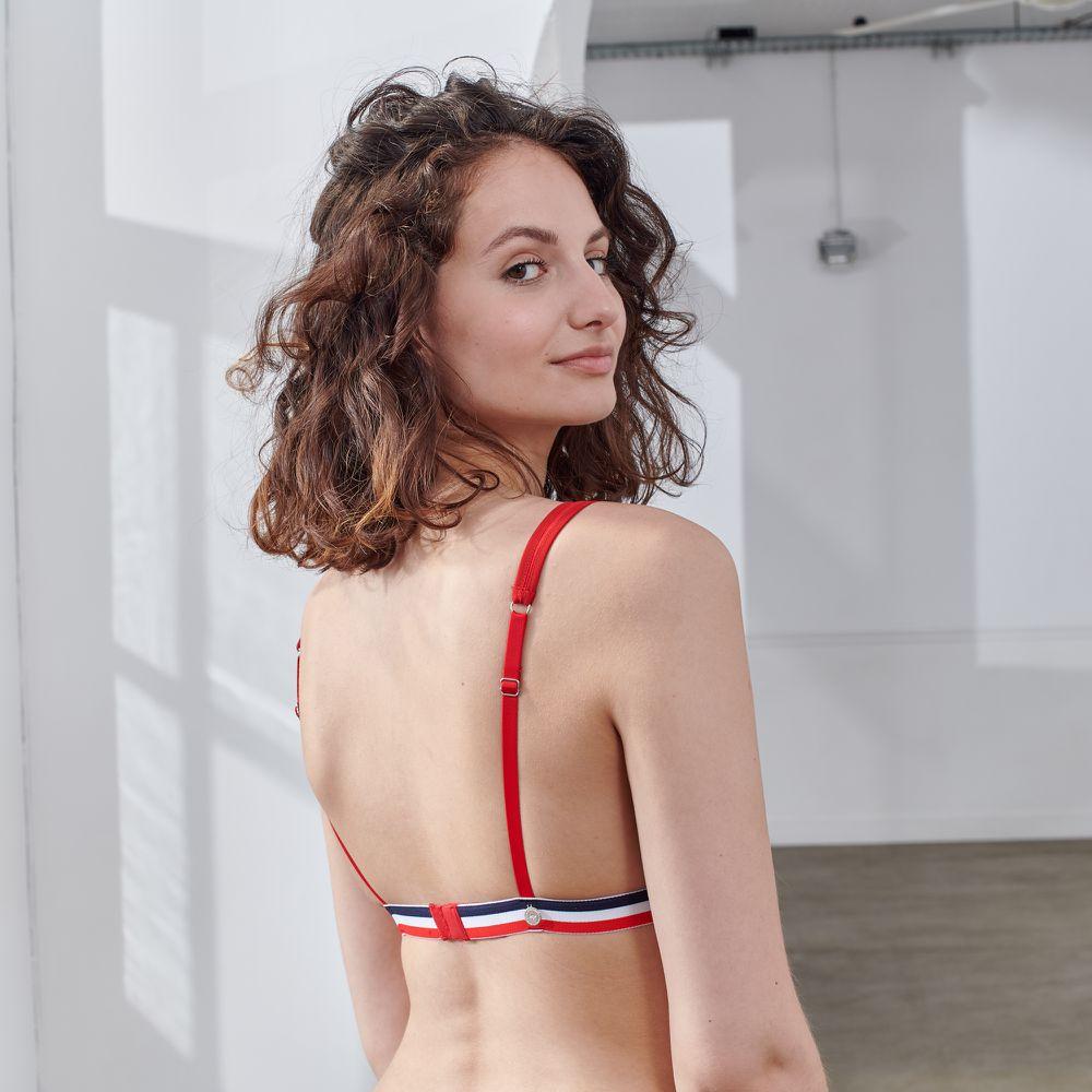 Soutien Gorge Femme Rouge Le Slip Français