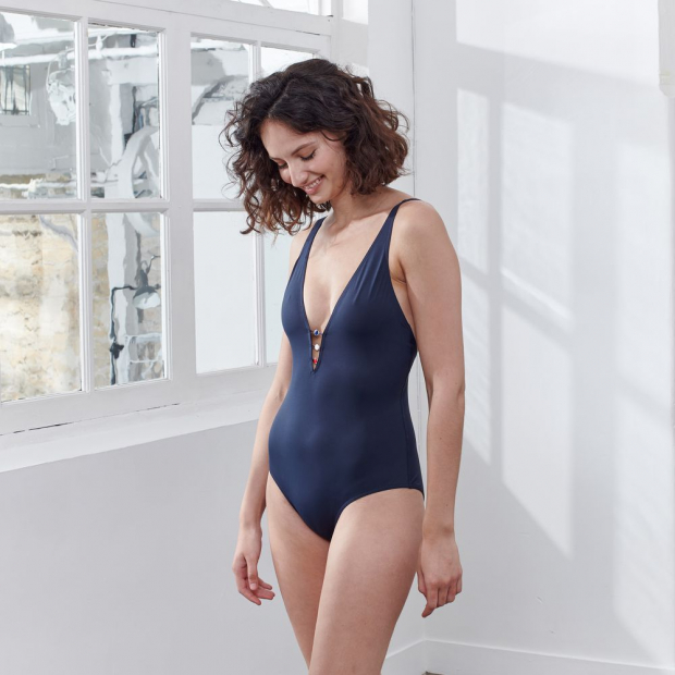 One-piece swimsuit in polyamide