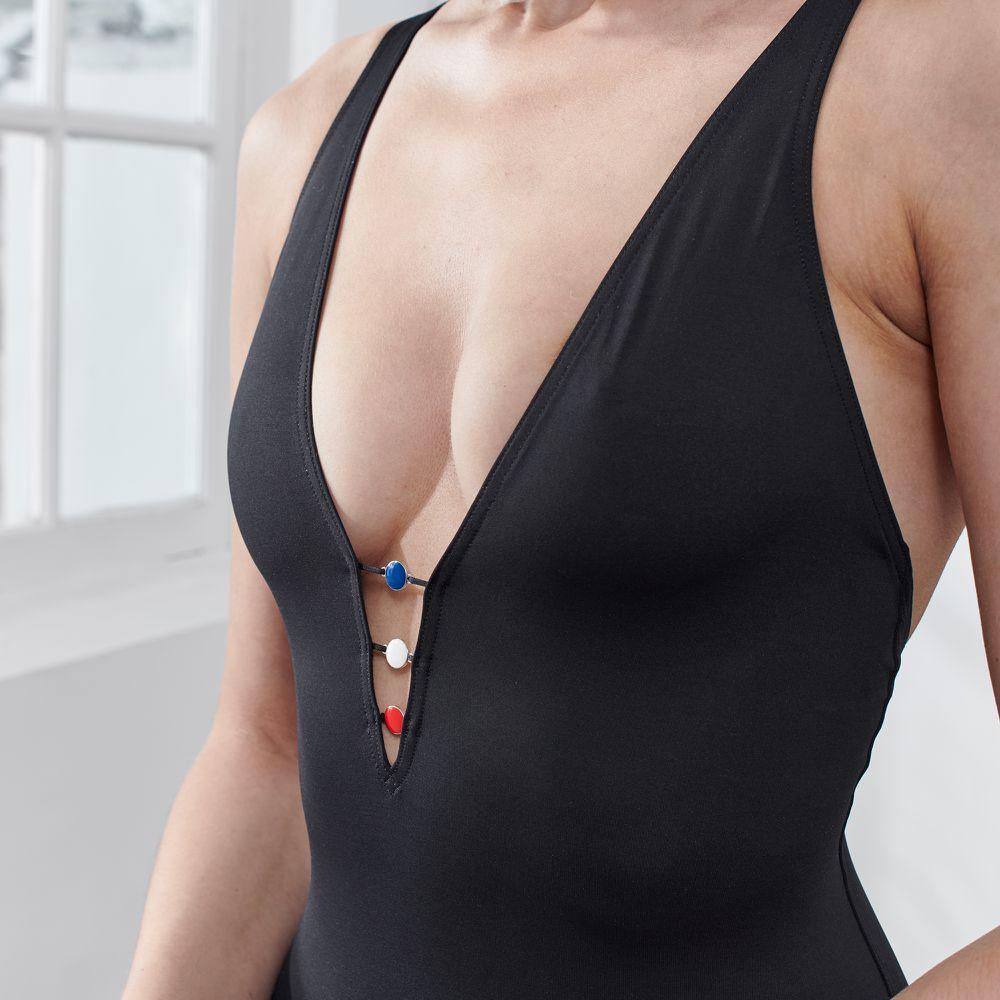 Une Piece Femme Noir Le Slip Français