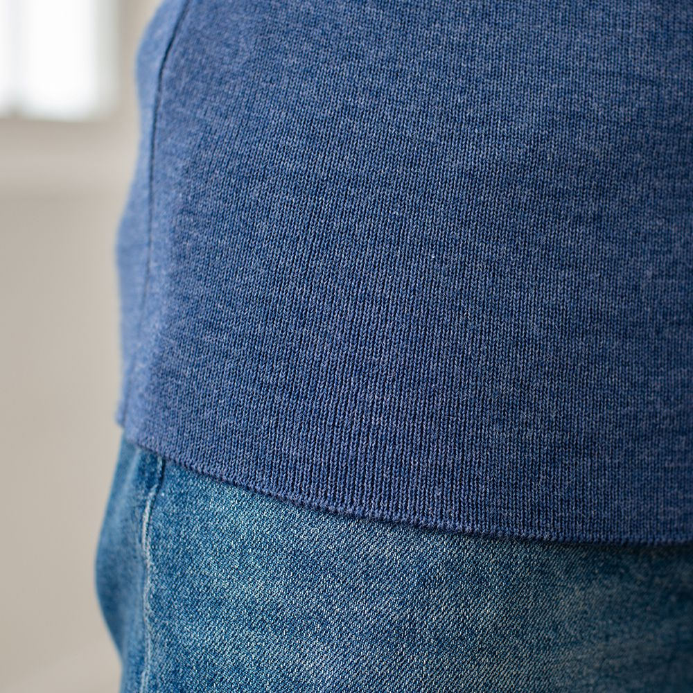 Maille Homme Bleu Jean Le Slip Français