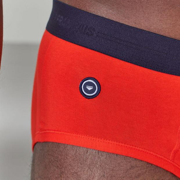 Einfarbige Boxershorts aus Bio-Baumwolle