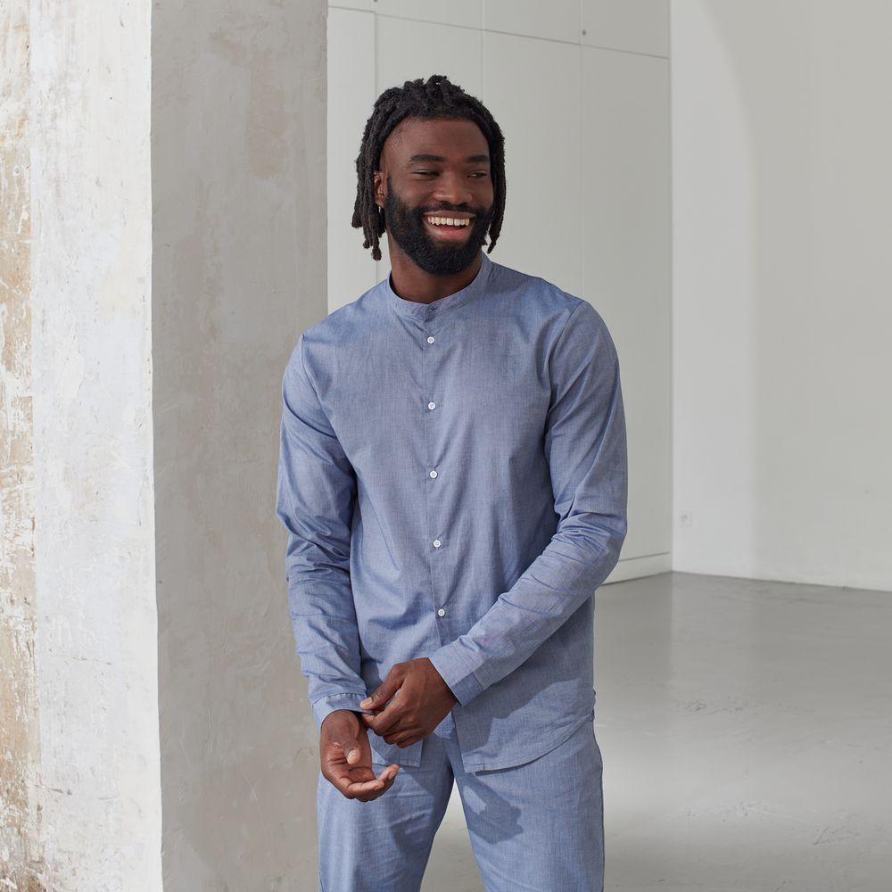 Pyjama Haut Homme Chambray Le Slip Français
