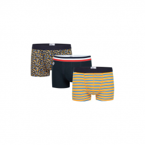 Cotton boxer trio