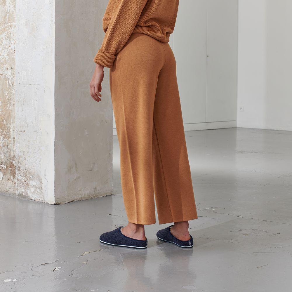 Easywear Bas Femme Beige Muscade Le Slip Français