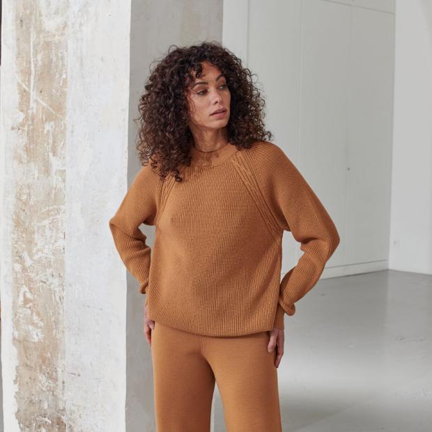 Unisex merino wool and acrylic* jumper