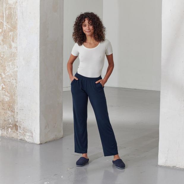 Pantalon en modal