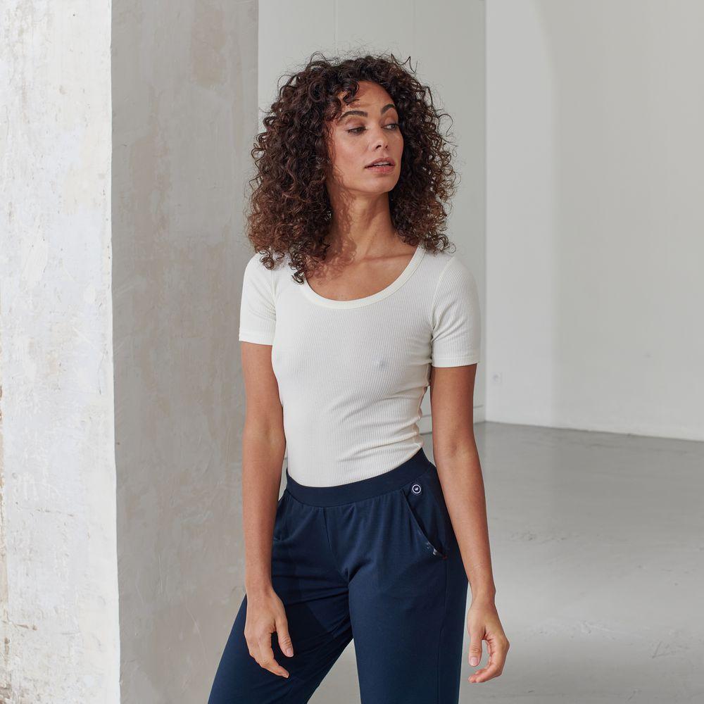 Pyjama Haut Femme Ecru Le Slip Français