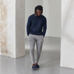 Pantalon de pyjama en coton bio texturé