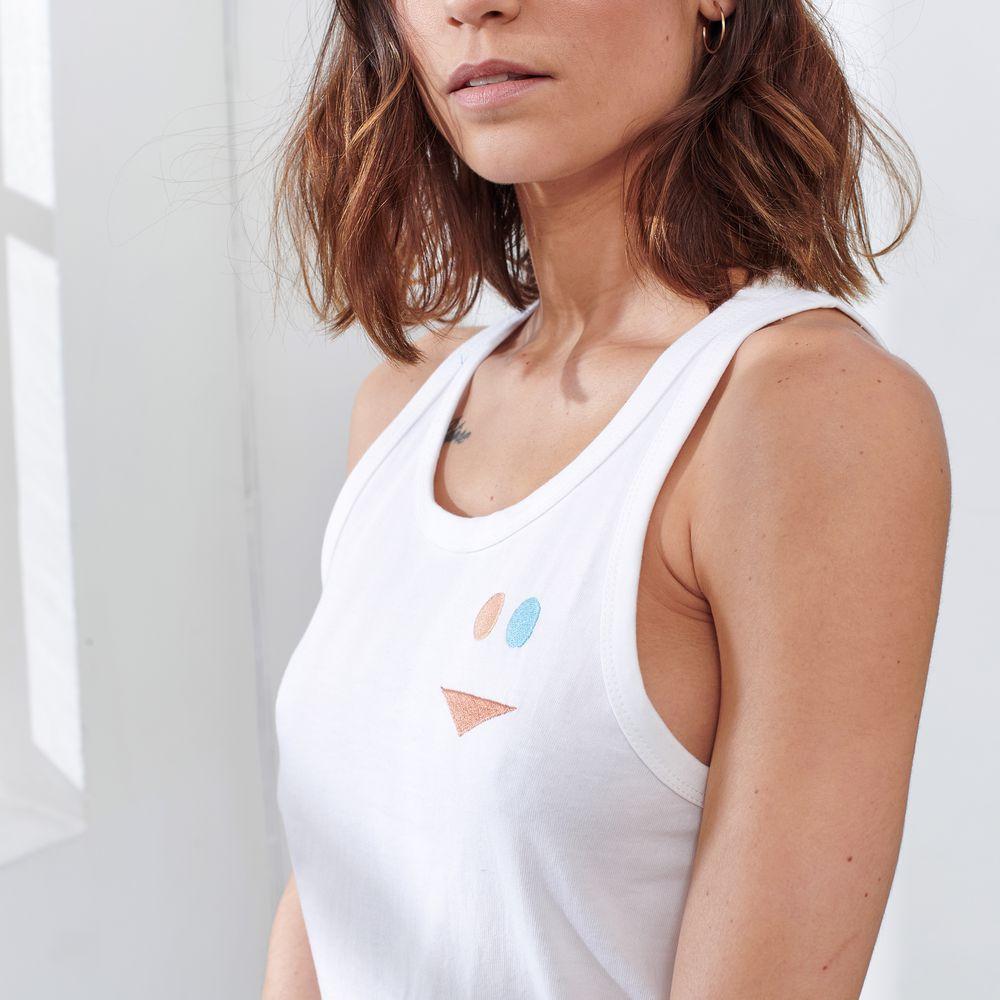 Easywear Haut Mixte Blanc Dhiver/Smiley Le Slip Français