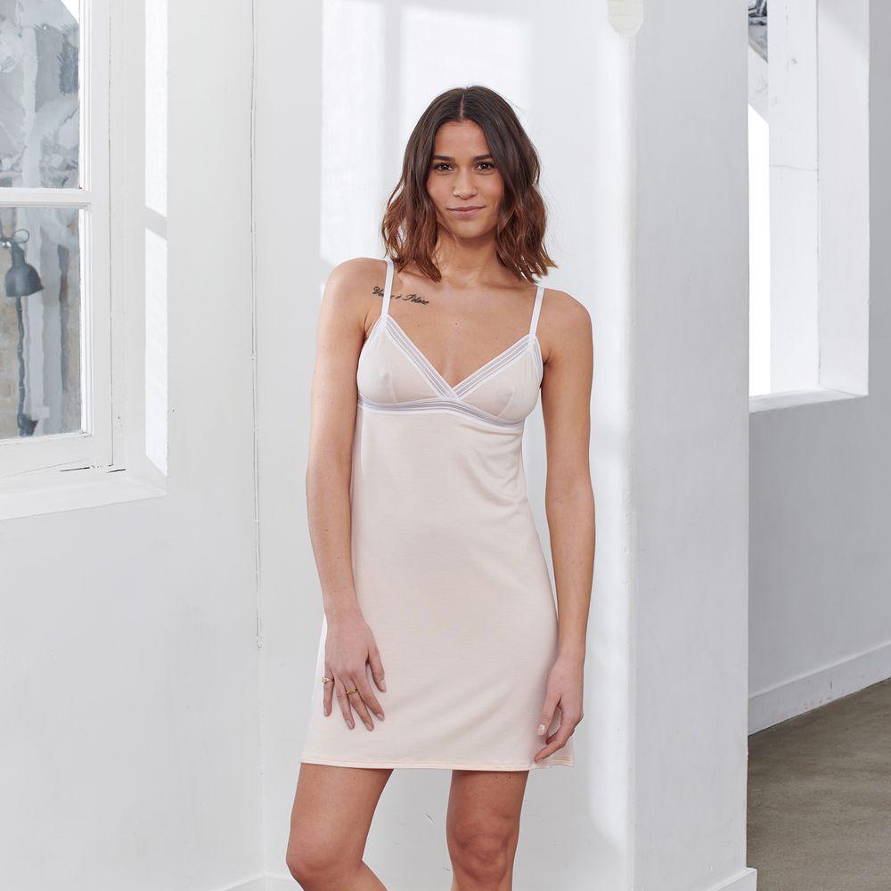 Nuisette Femme Rose Pale Le Slip Français