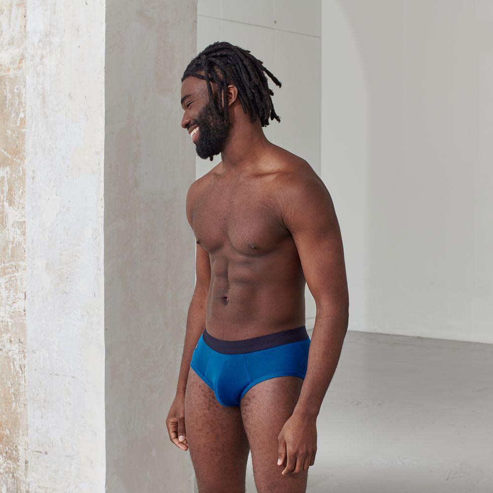 Slip Homme Bleu Gascon Le Slip Français