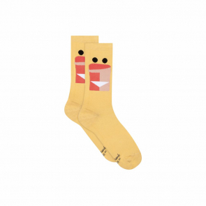 Organic cotton mid-high socks