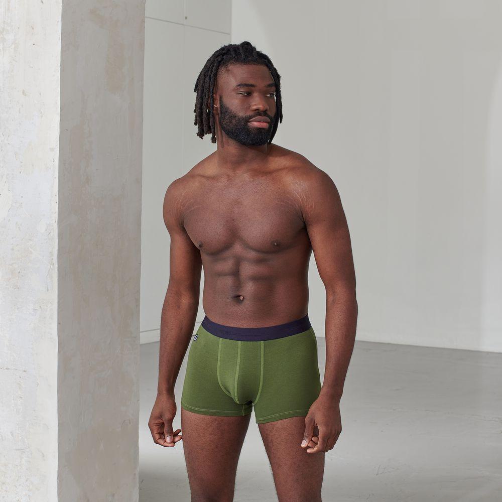 Boxer Homme Vert Olivine Le Slip Français