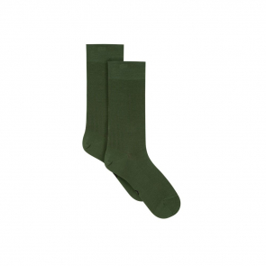 Scottish yarn mid-calf socks
