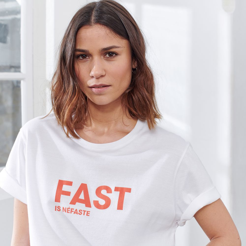 Easywear Haut Mixte Blanc/Fast Is Nefast Le Slip Français