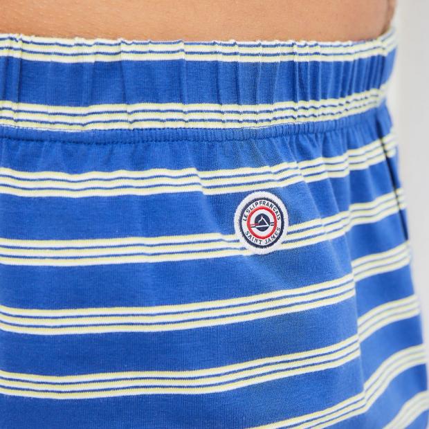 Striped soft jersey cotton boxer shorts