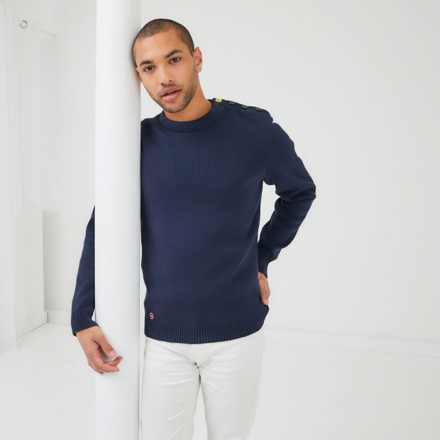 Pull en coton bio Saint James x LSF