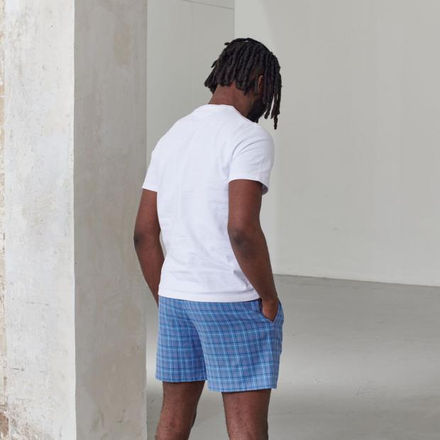 Short de pyjama en coton bio