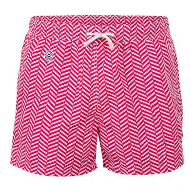Maillots de bain Homme - Le Haddock chevron rouge - Short de bain élastique