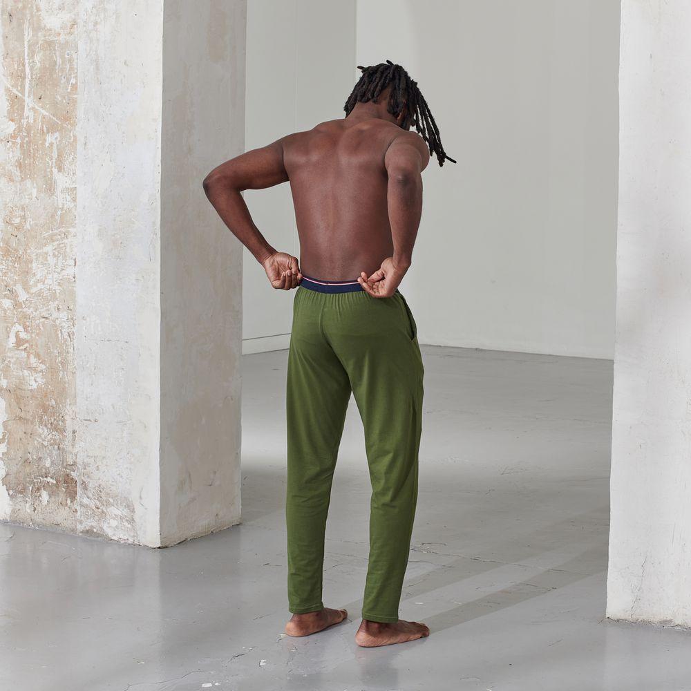 Pyjama Bas Homme Vert Olivine Le Slip Français