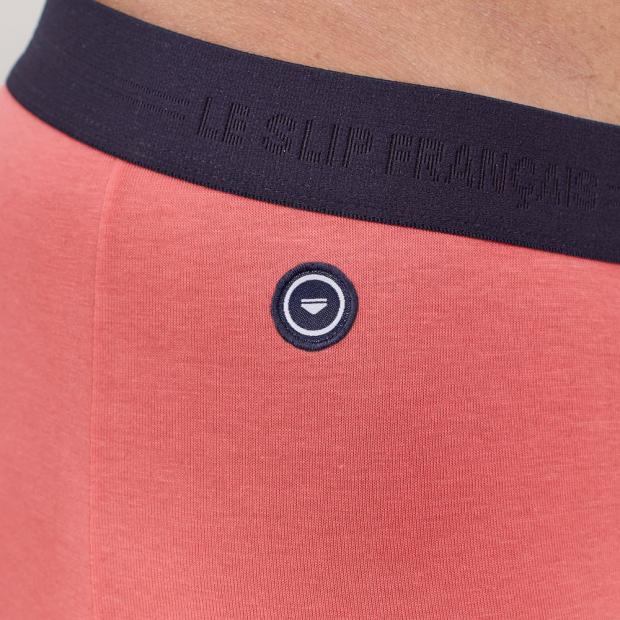 Plain organic cotton boxer shorts