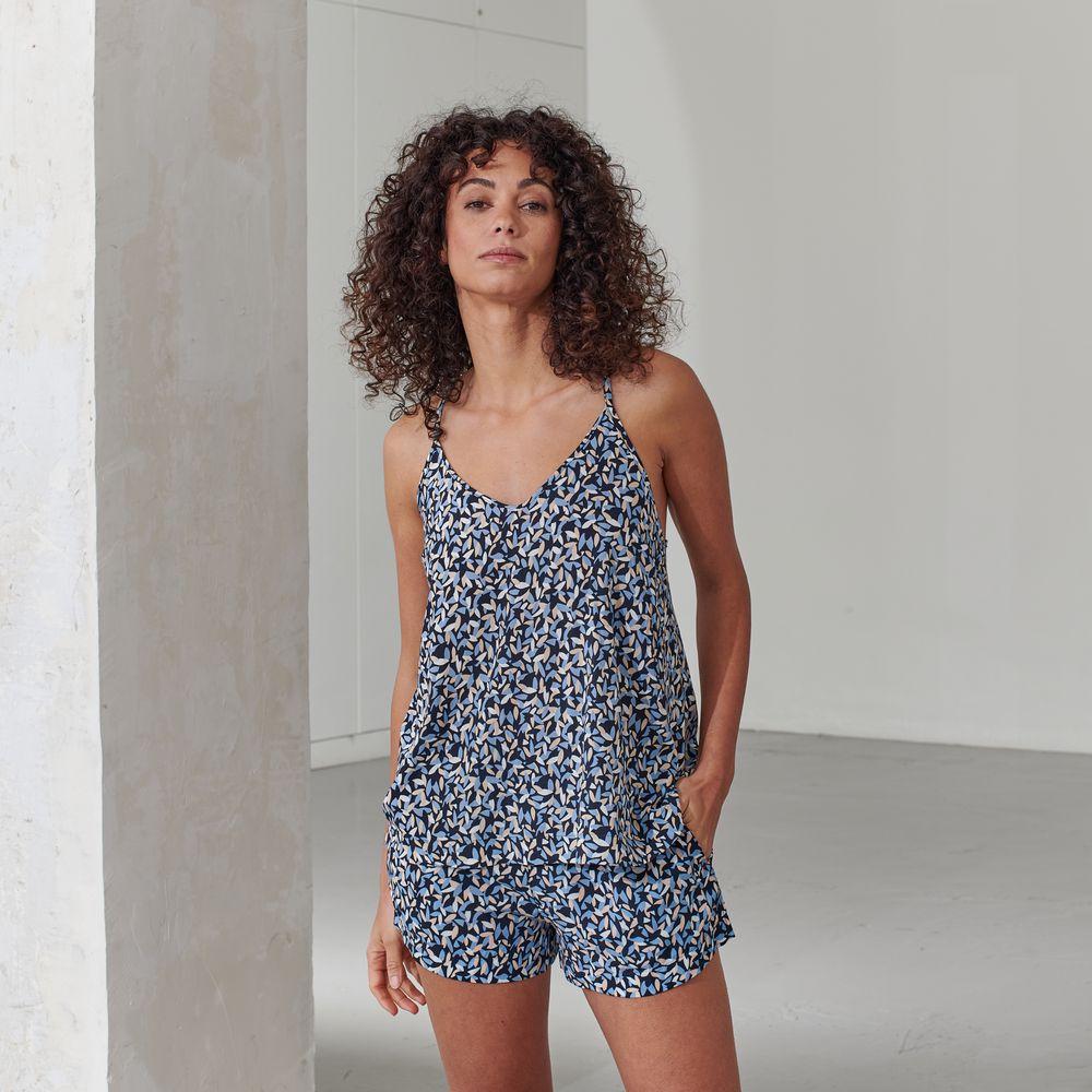 Pyjama Bas Femme Musette Marine Le Slip Français