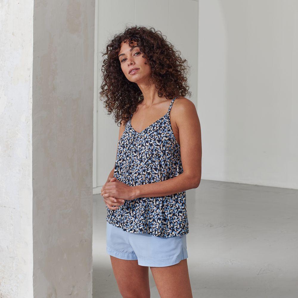 Pyjama Haut Femme Musette Marine Le Slip Français