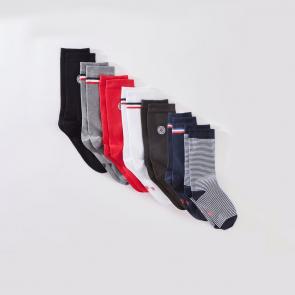 Semainier de chaussettes en coton
