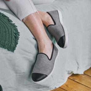 Chaussons d'été mixtes en coton