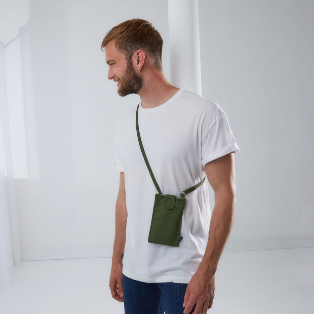 Recycled polyester phone holder