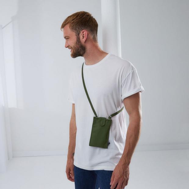 Porte téléphone en polyester recyclé