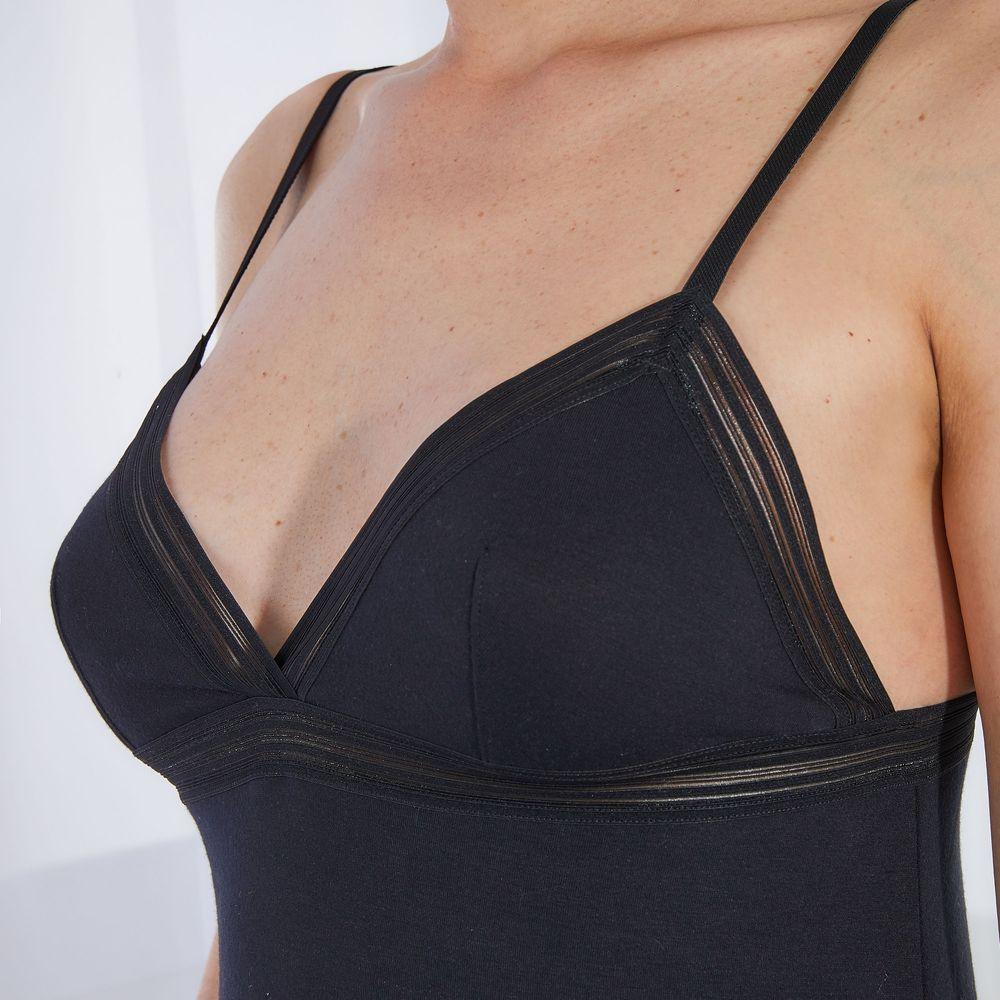 Nuisette Femme Noir Le Slip Français