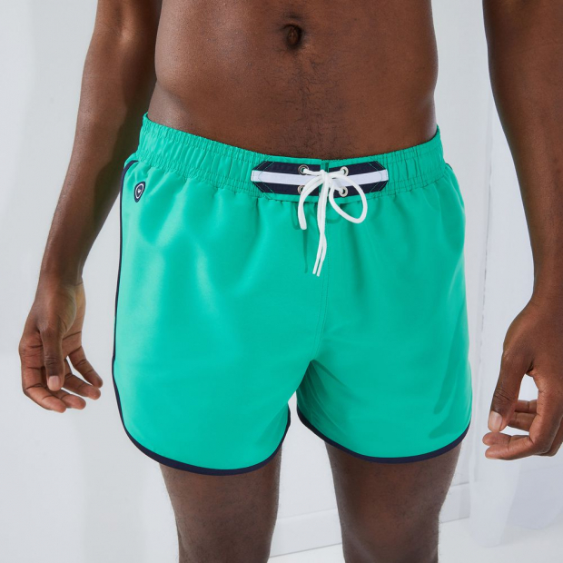 Short swimming pant in recycled polyester