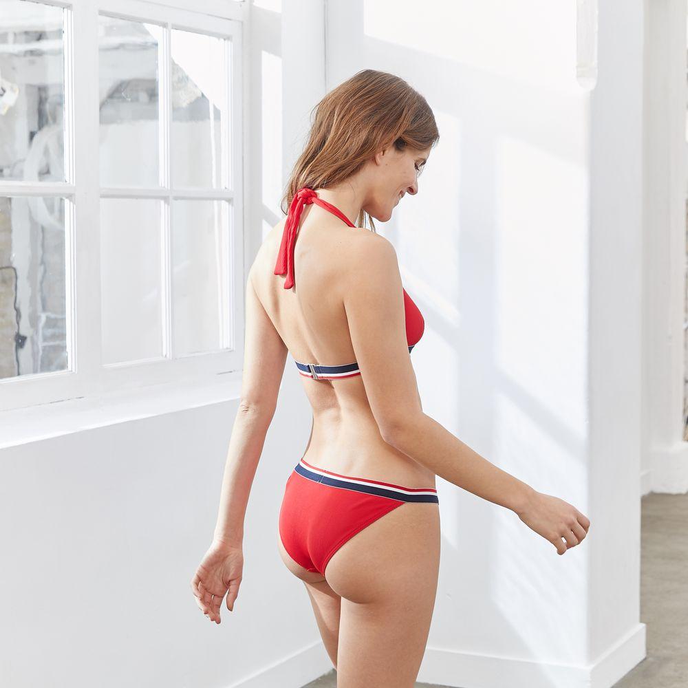 Bikini Femme La Ecume Rouge Le Slip Français