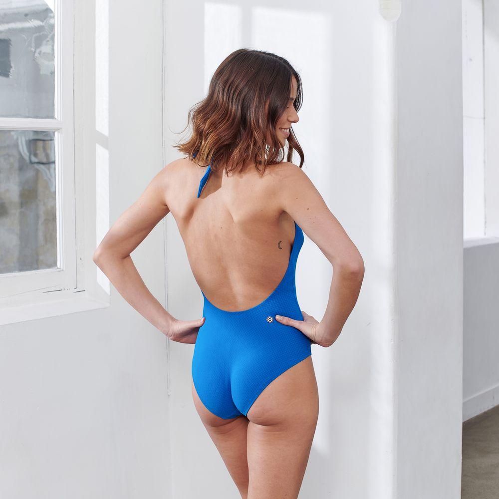 Une Piece Femme Bleu Gascon Le Slip Français