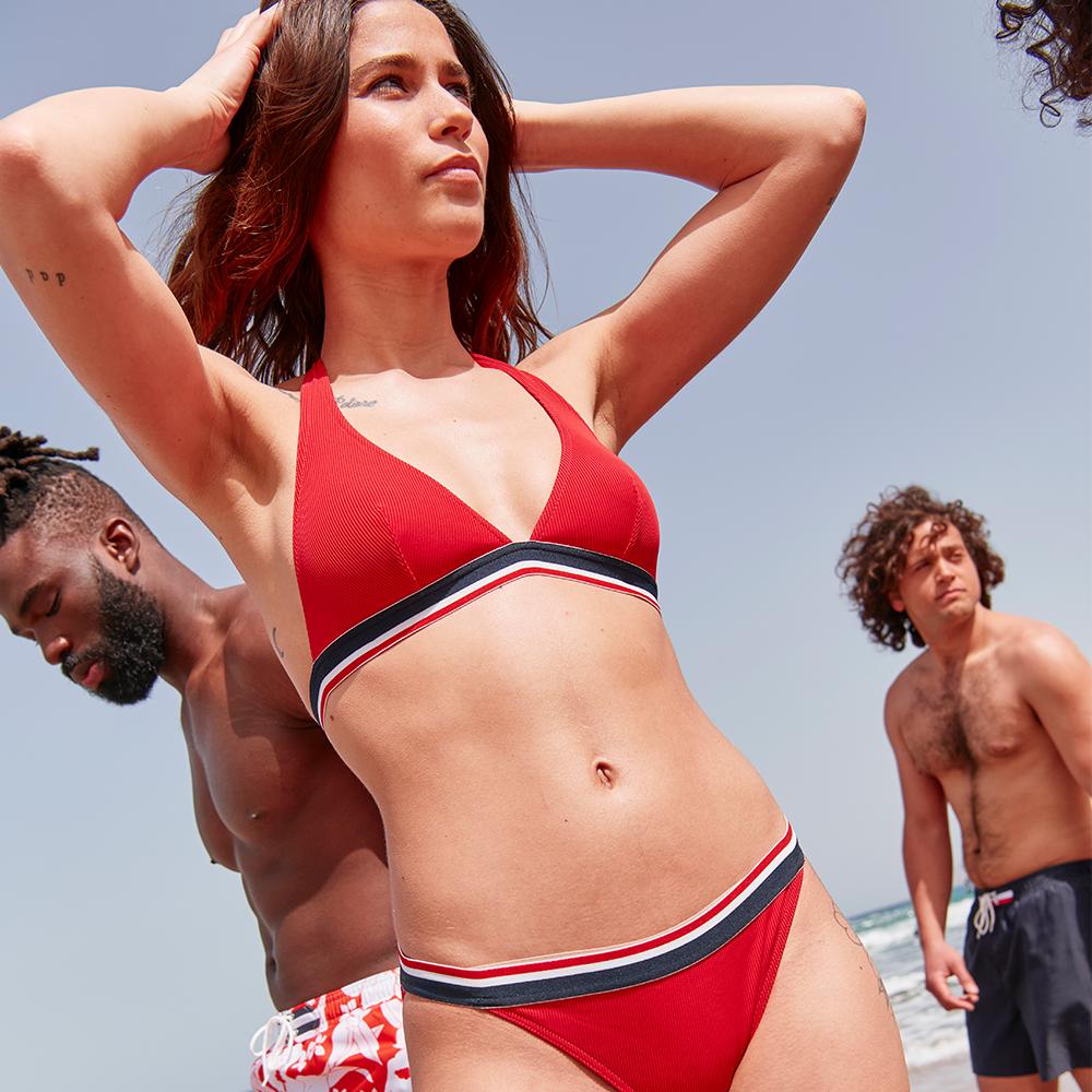 Bikini Femme Rouge Le Slip Français