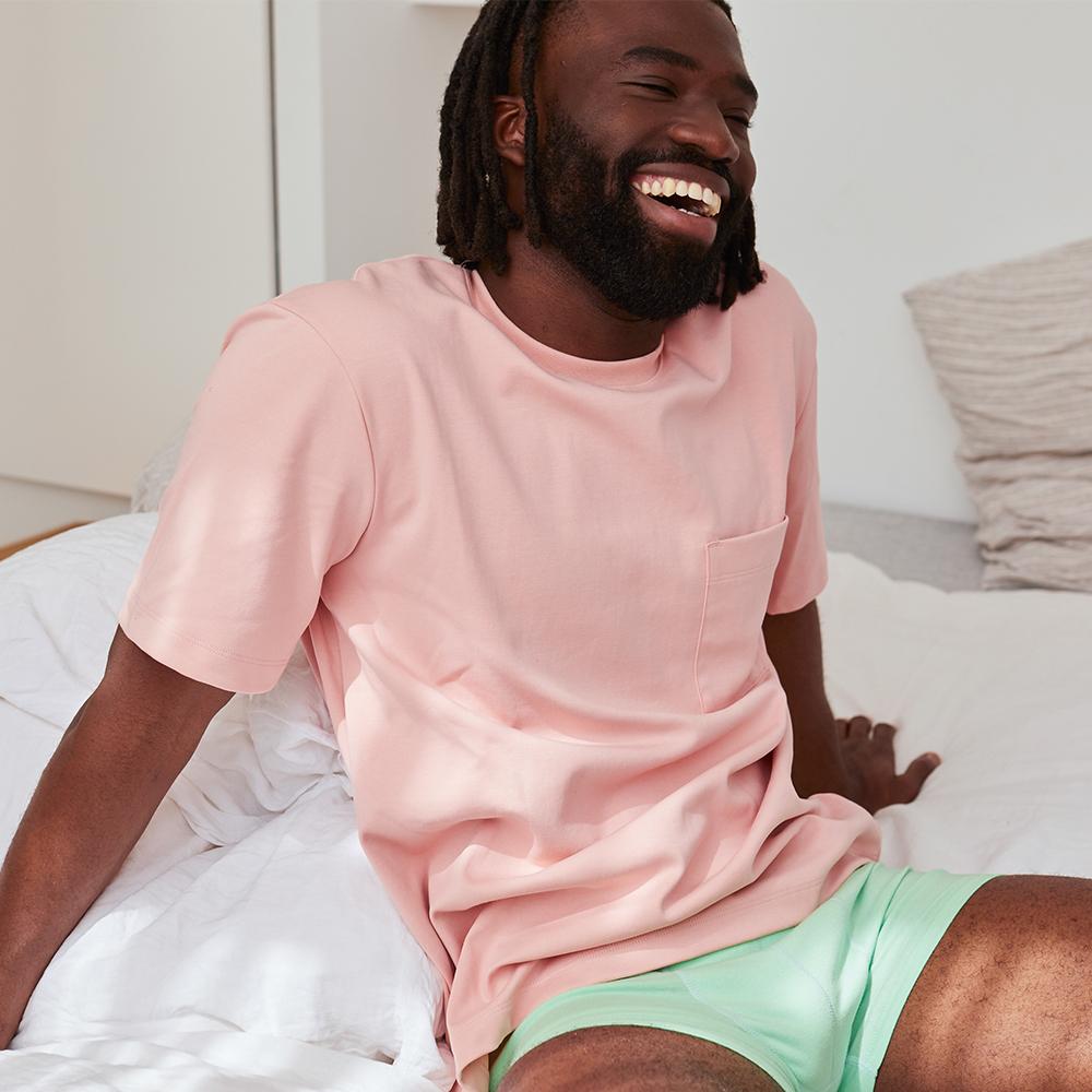 Easywear Haut Mixte Rose Pastel Le Slip Français