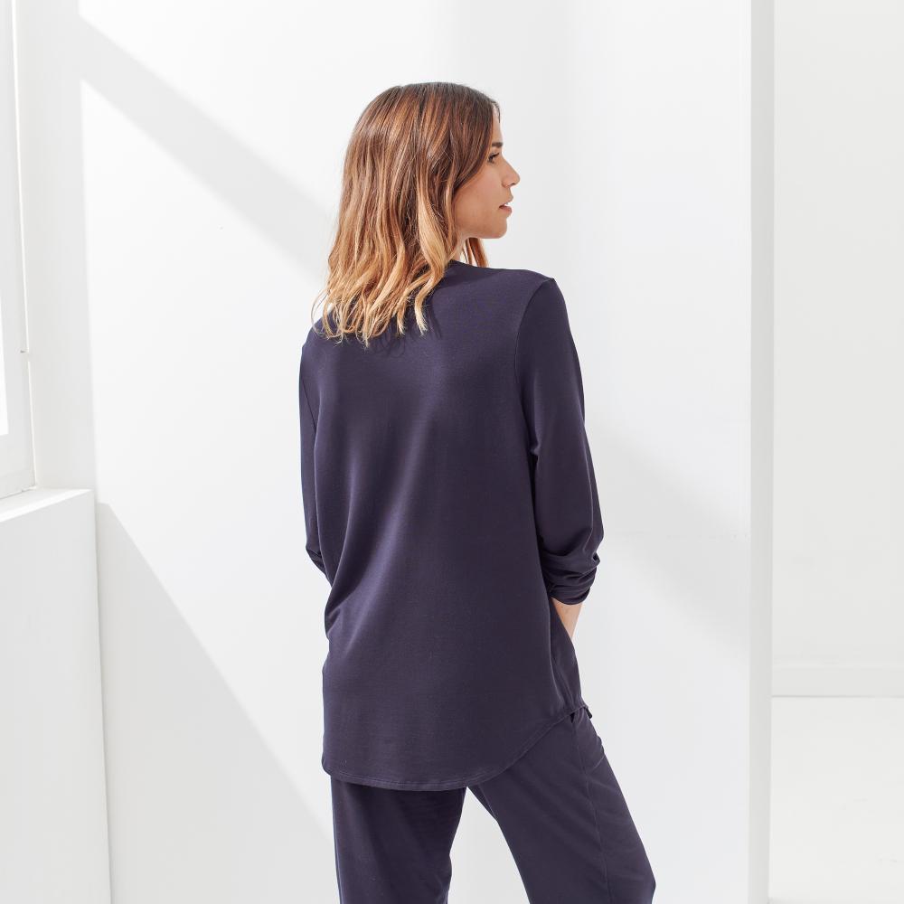 Pyjama Haut Femme Marine Lsf Le Slip Français