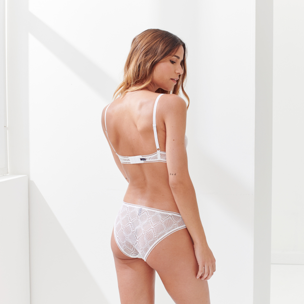 French lace panty