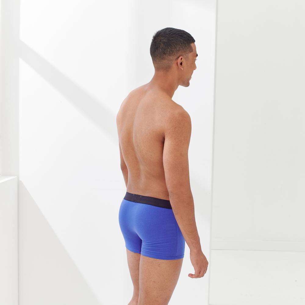 Boxer Homme Bleu Encre Le Slip Français