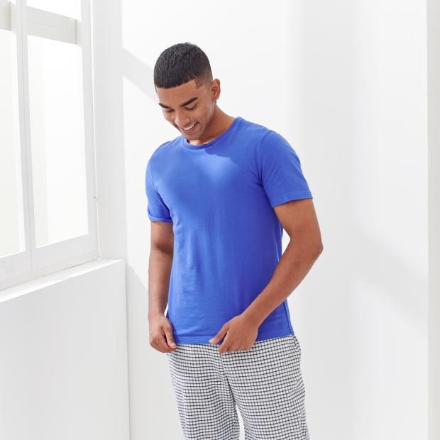 T-Shirt aus schwerem Baumwoll-Jersey