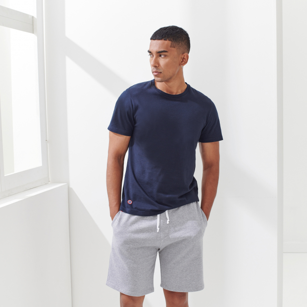 Unisex shorts aus Vlies