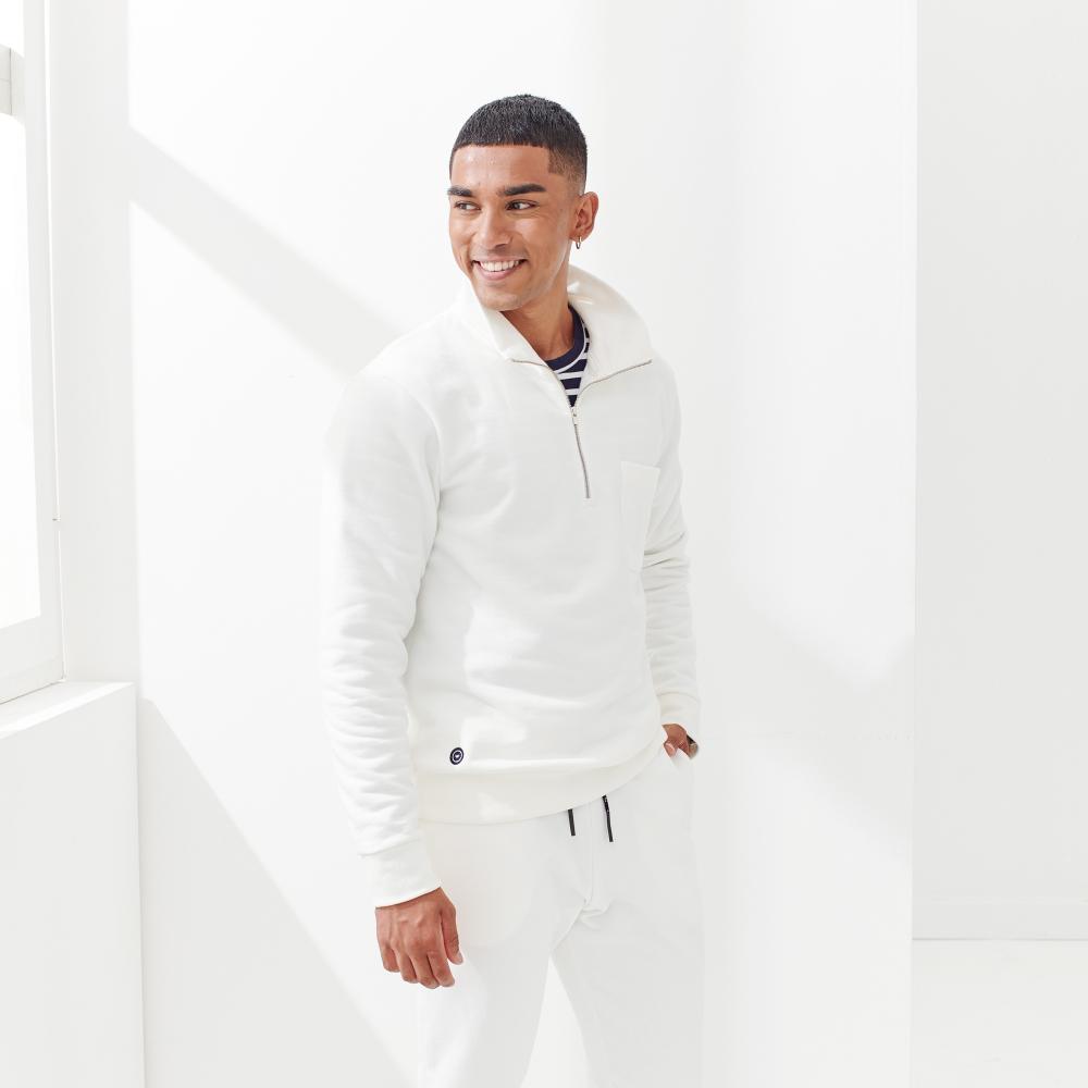 Easywear Haut Mixte Ecru Le Slip Français