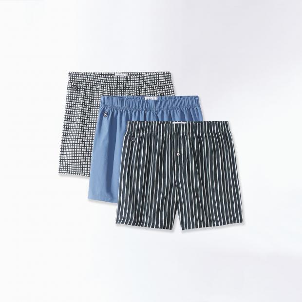 Trio of cotton briefs