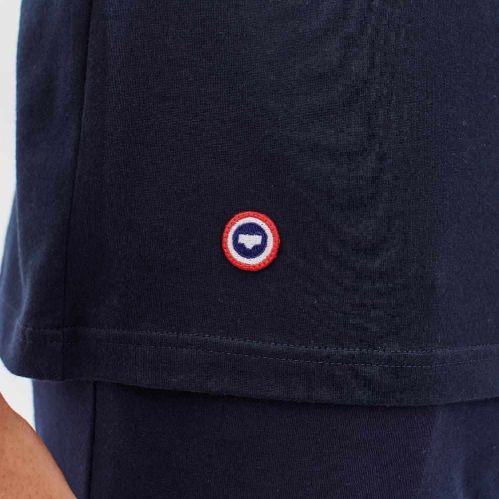 Easywear Haut Mixte Marine Lsf Le Slip Français