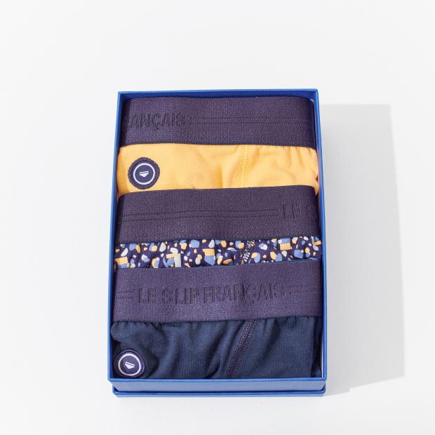 Trio de slips en coton