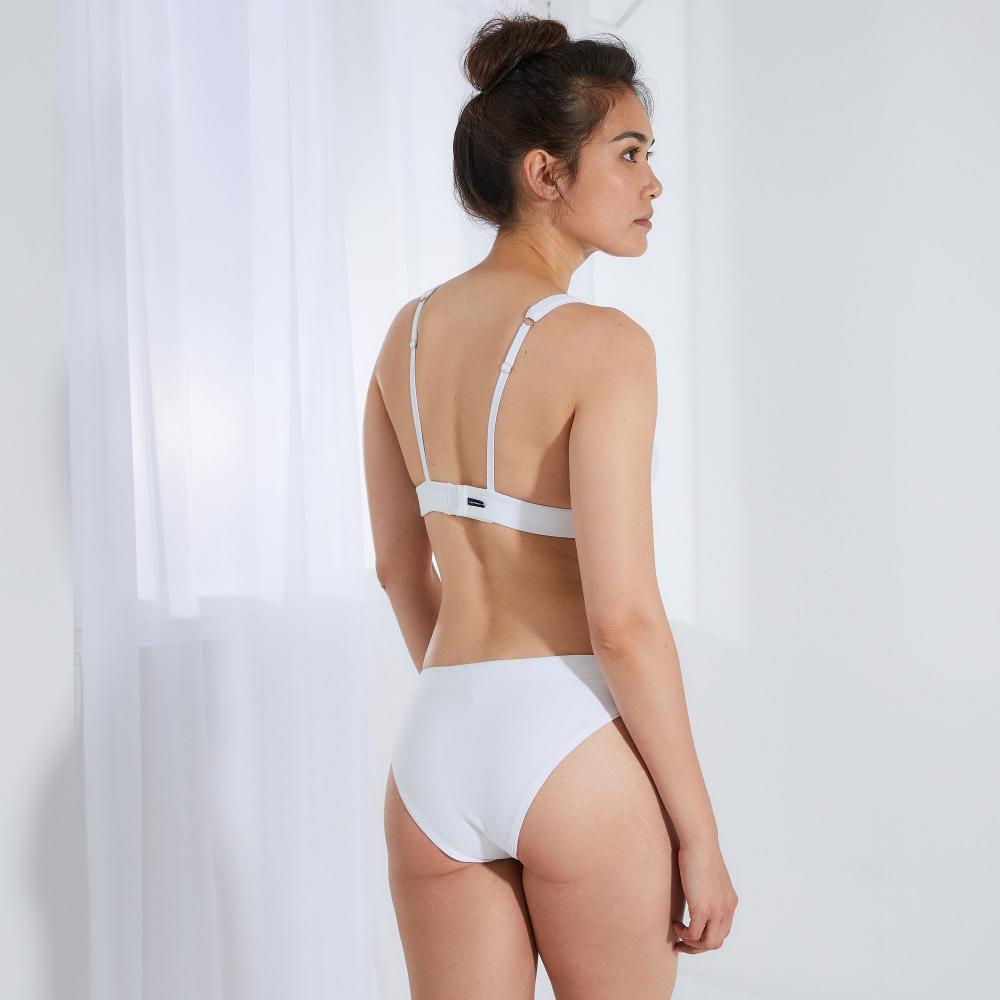 Culotte Et Bas Femme Blanc Le Slip Français